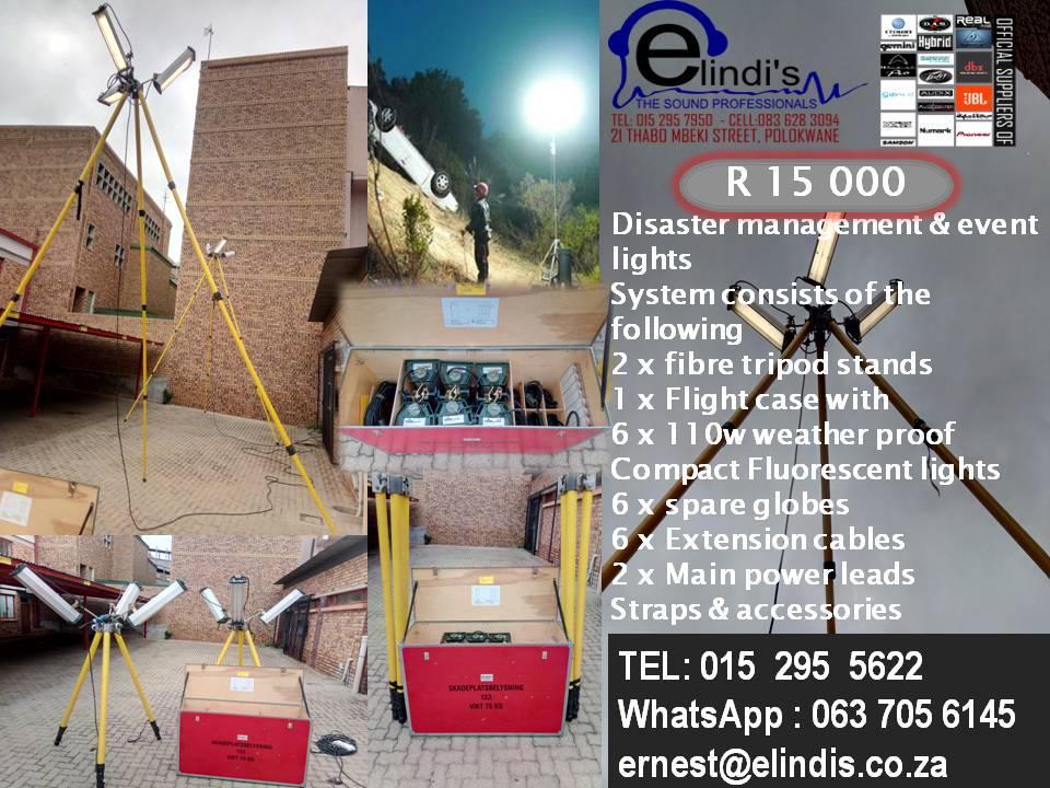 Disaster management & event Lights