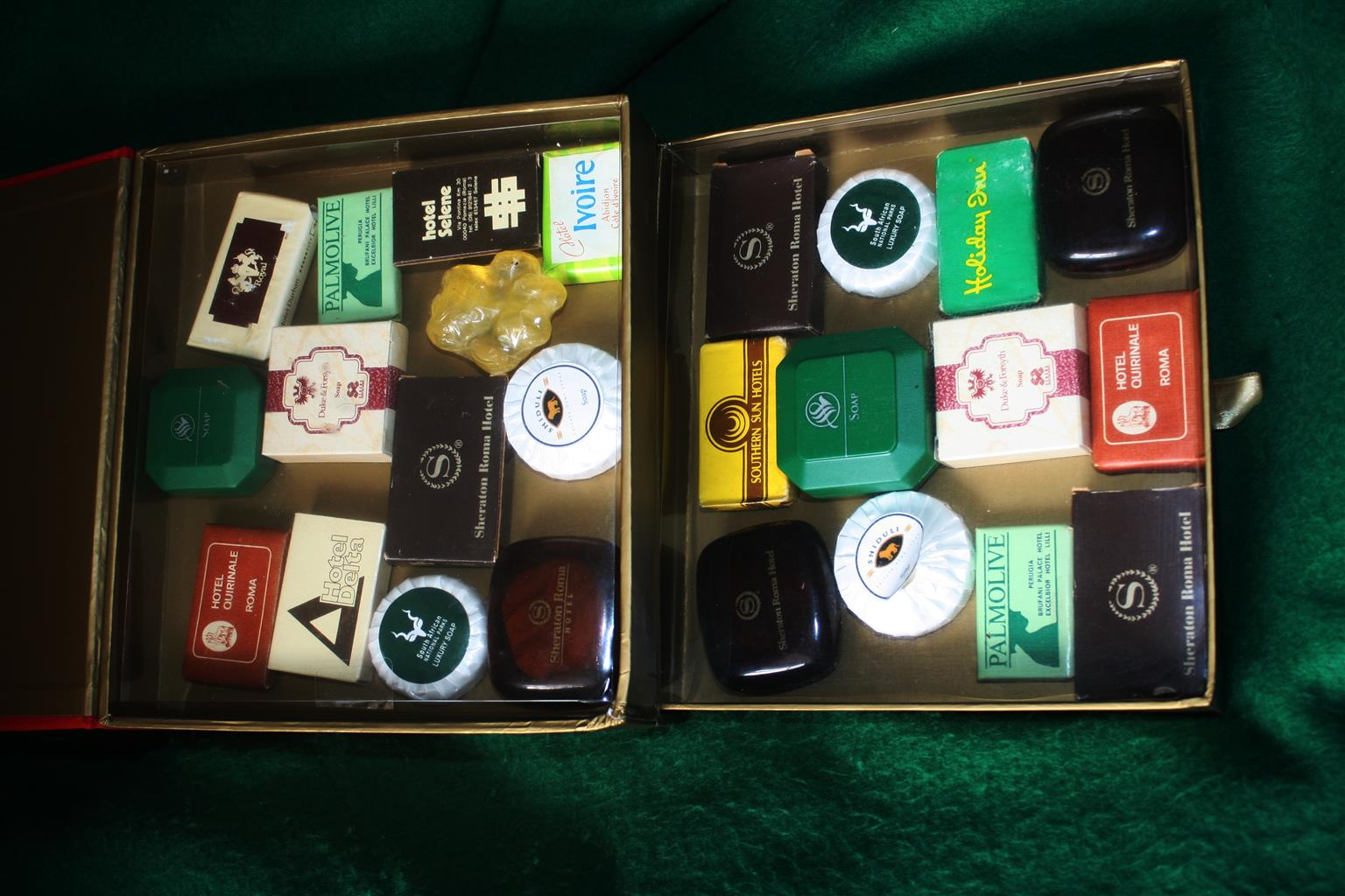 International Hotel and Airlines Soaps Miniatures