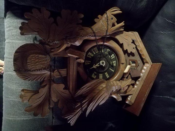 Vintage cuckoo clock for sale