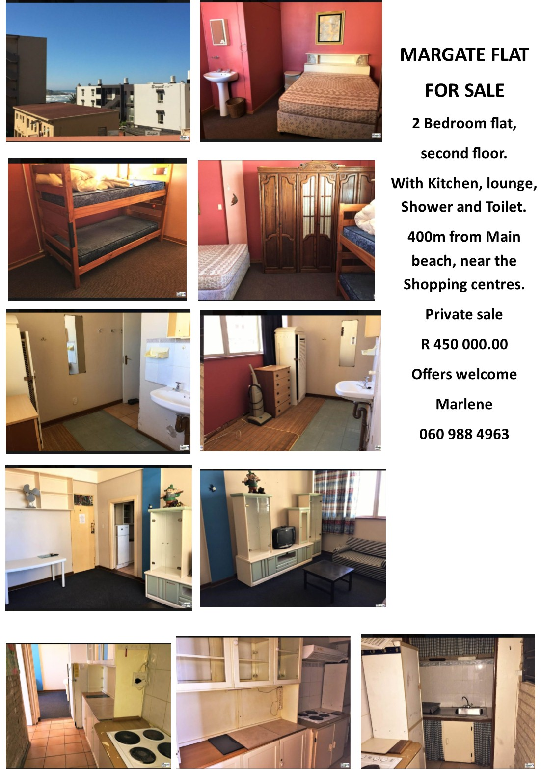 MARGATE FLAT FOR SALE