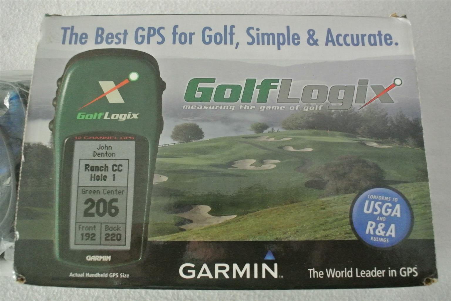 Garmin Golflogix Hand held GPS