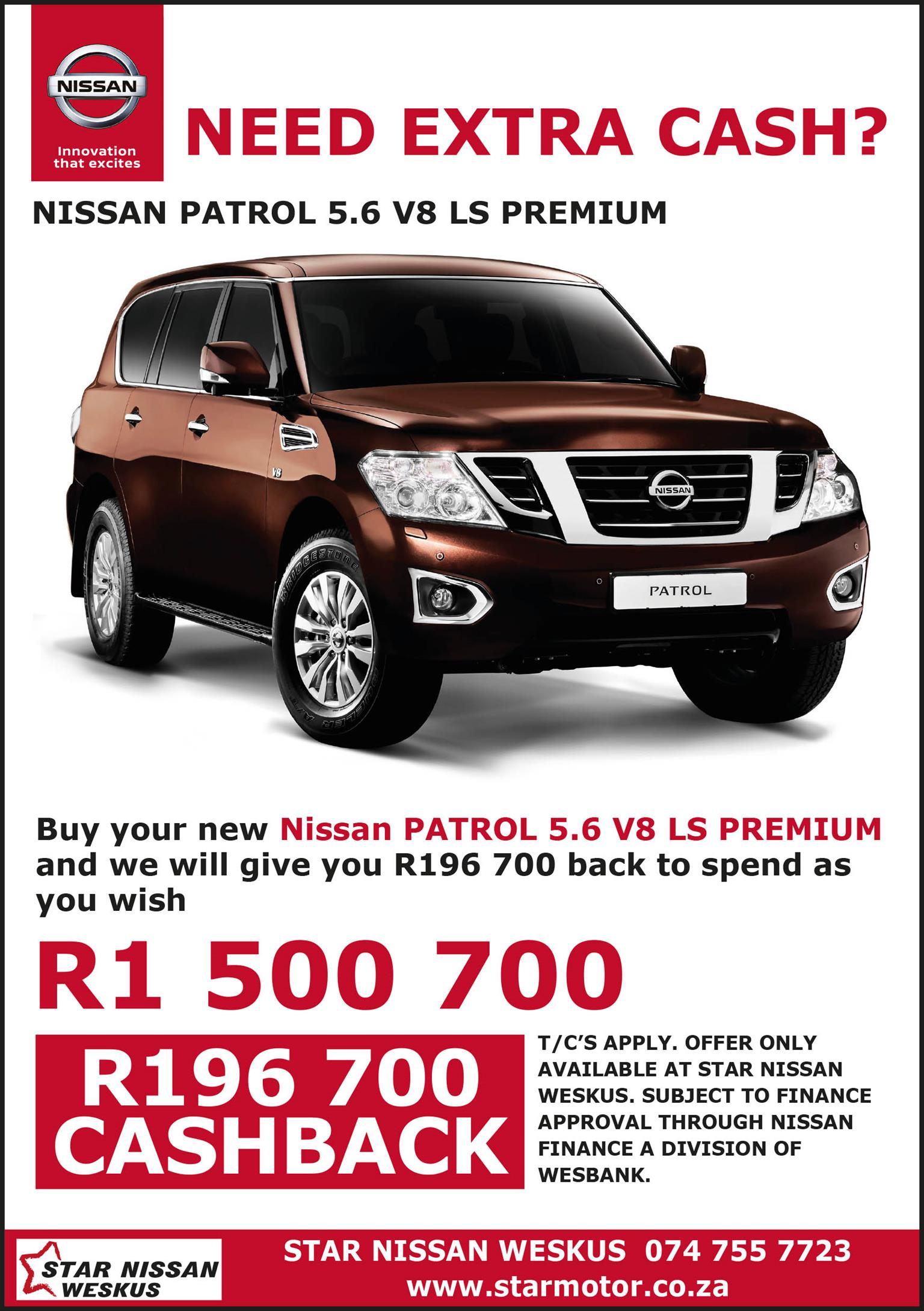 2020 Nissan Patrol 3.0Di GL