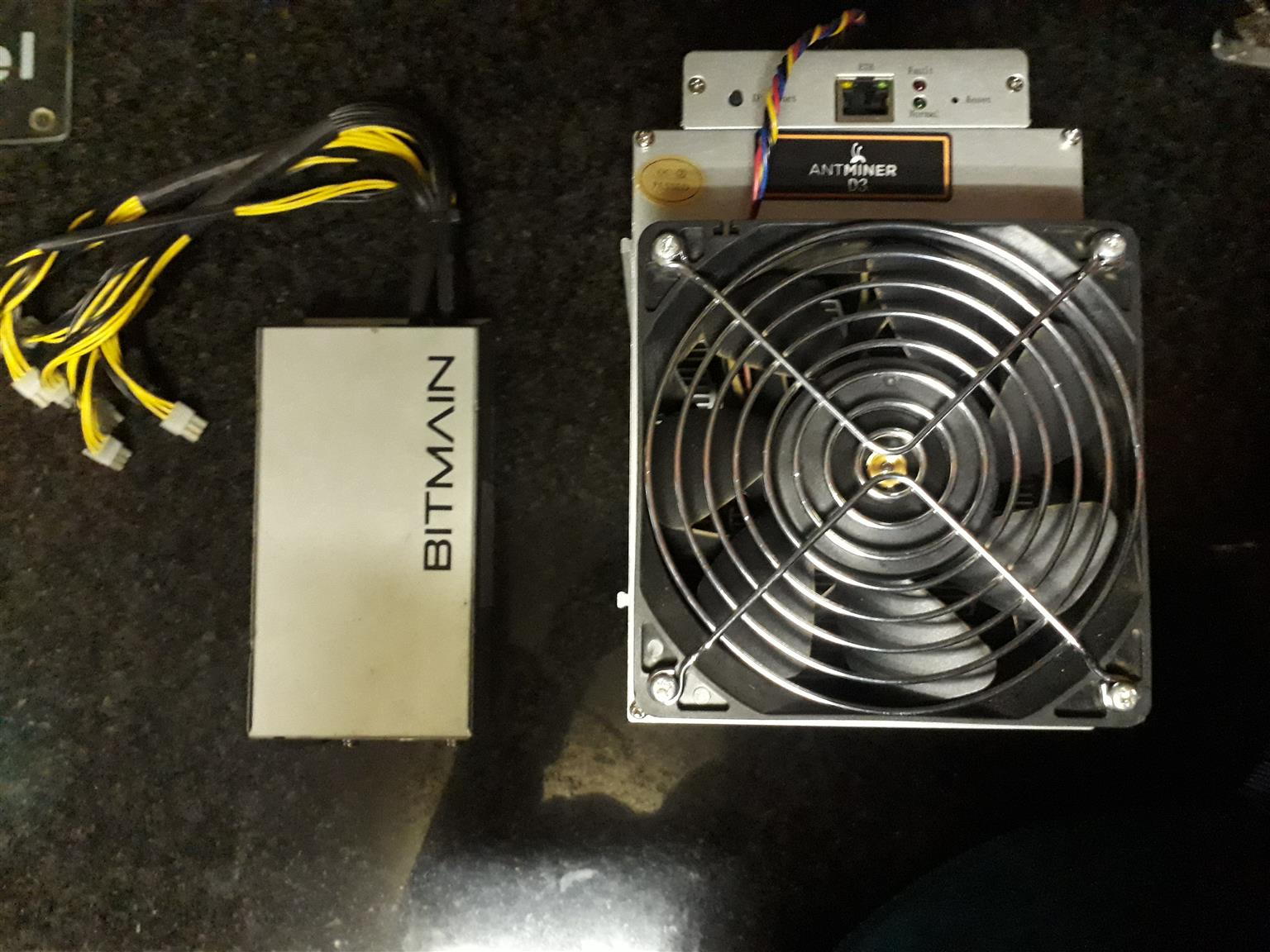 Antminer D3 hash boards and Bitmain psu | Junk Mail