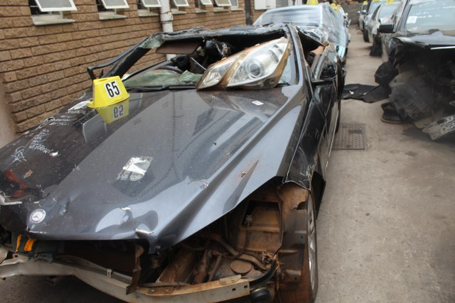 We are stripping this MERCEDES W207 E350