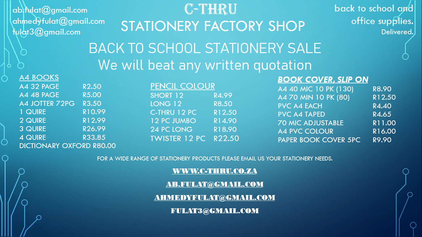 Stationery Factory Shop