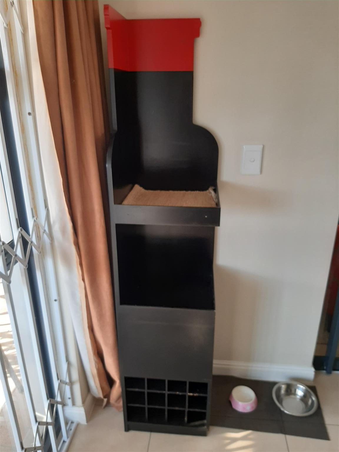 Wine rack corner stand