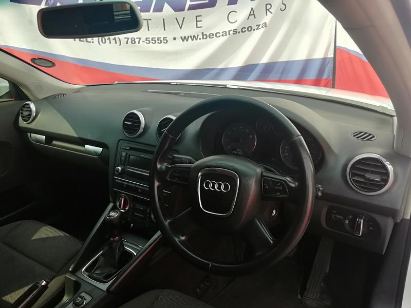 2012 Audi A3 1.4T Attraction