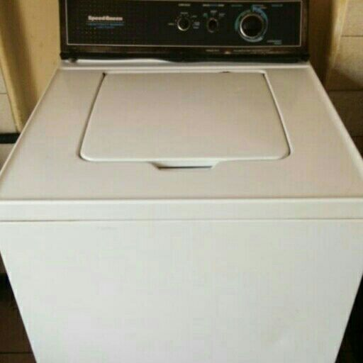 peed Queen heavy duty washer large capacity