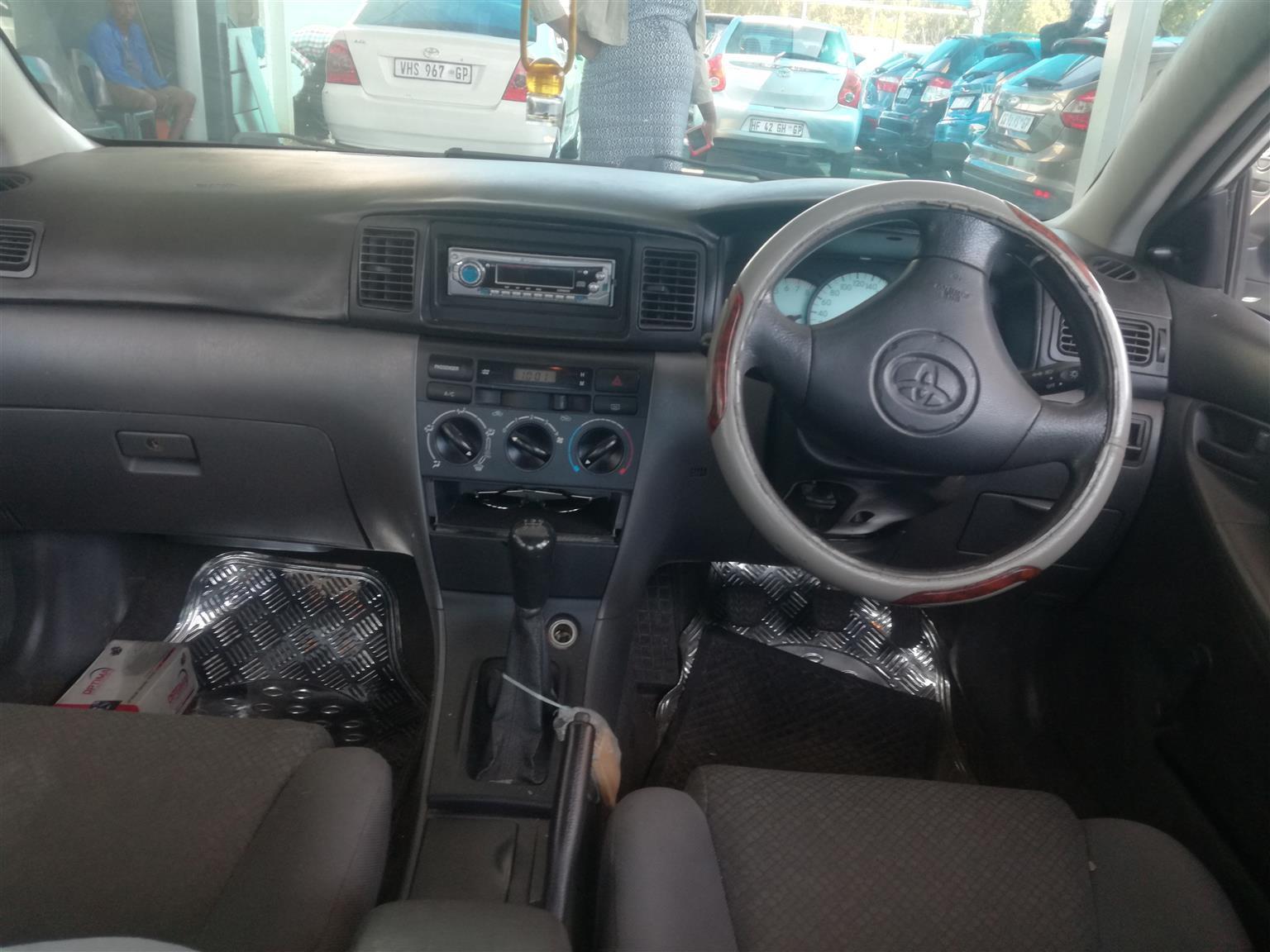 2007 Toyota Corolla 1.4 Advanced