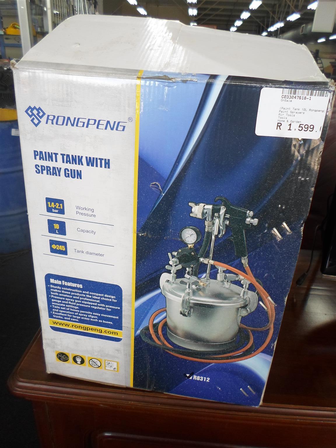 Rongpeng Paint Tank with Spraygun