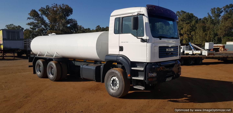 MAN TGA 33.410 Rigid Water Bowser Tanker Truck