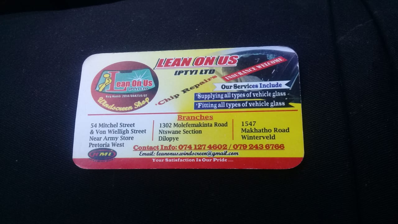 For all your windscreens repairs