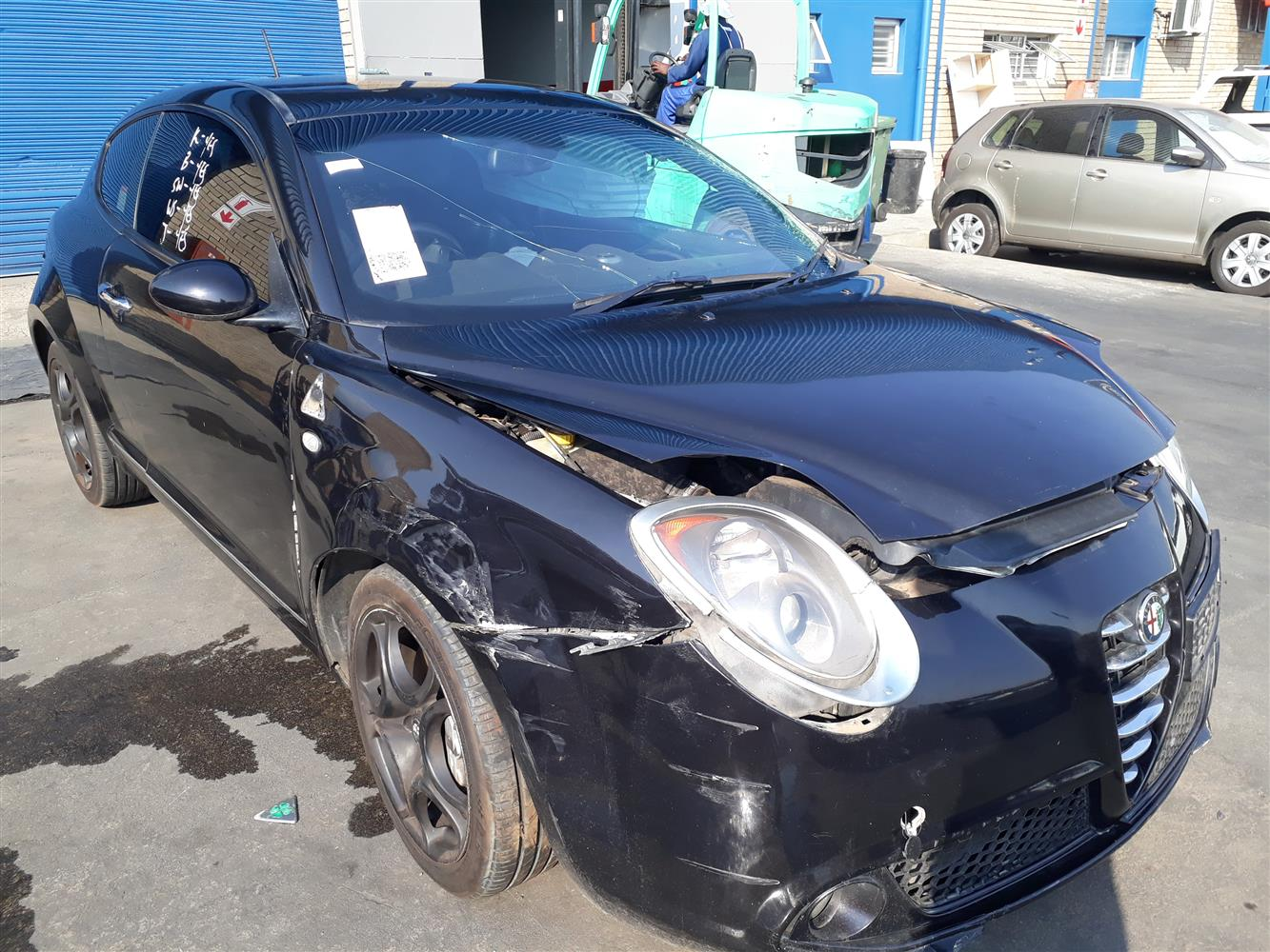 2012 Alfa Romeo Mito Accident Damaged For Sale