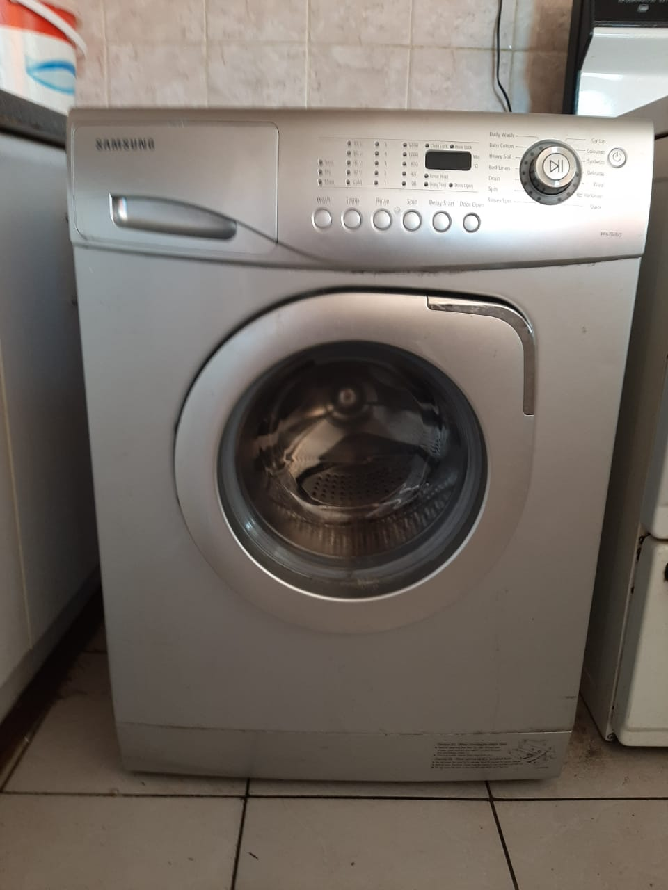 Samsung Frontloader Washing Machine