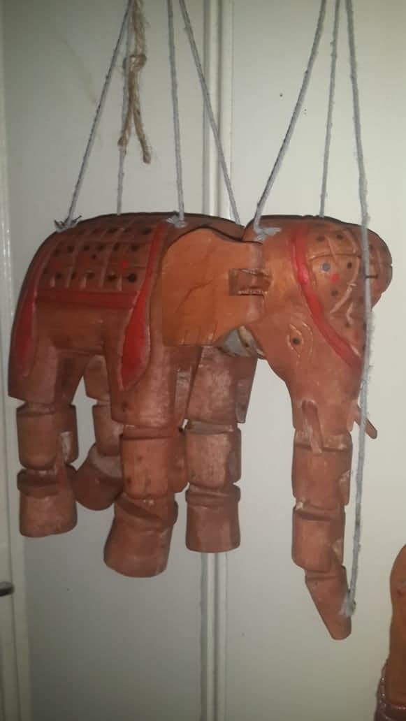 Asian Marionette Puppets from India, Thailand / Burmese
