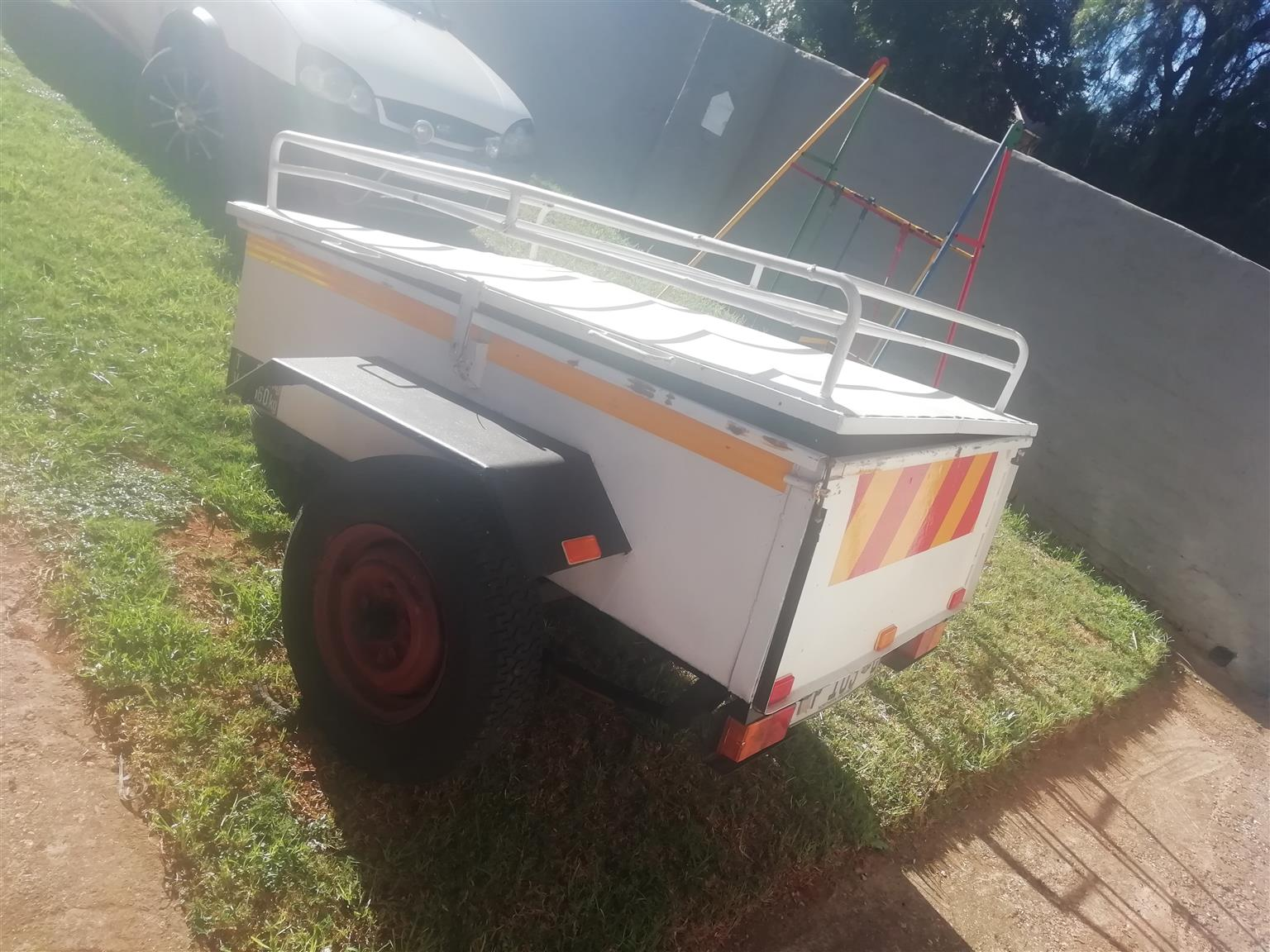 Home built trailer