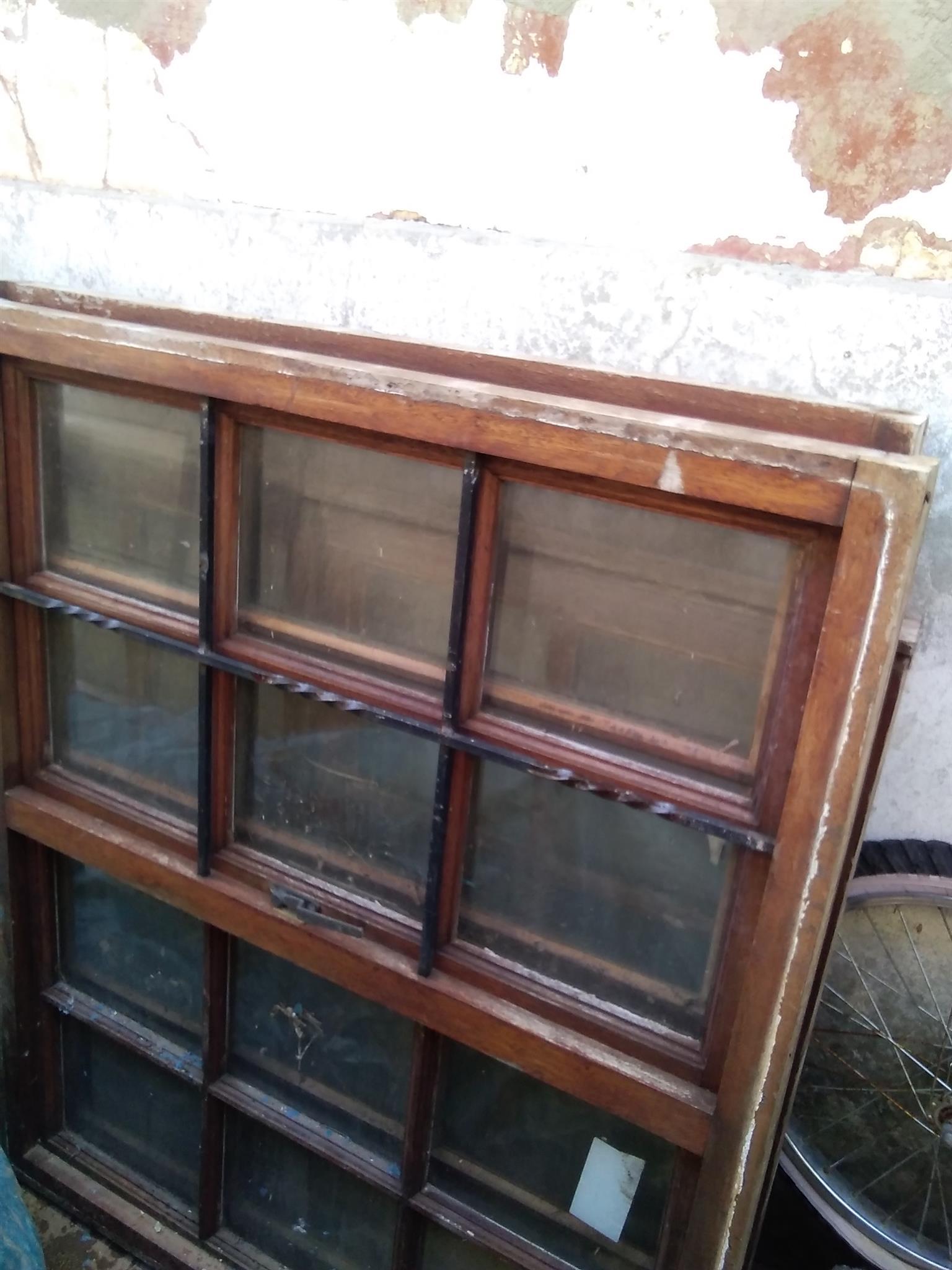 Wooden Window Frames Length 110,5cm