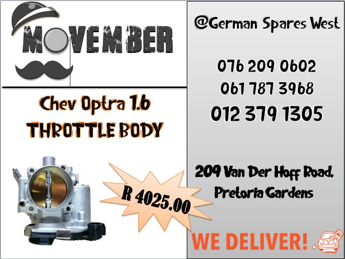 CHEV OPTRA 1.6 THROTTLE BODY