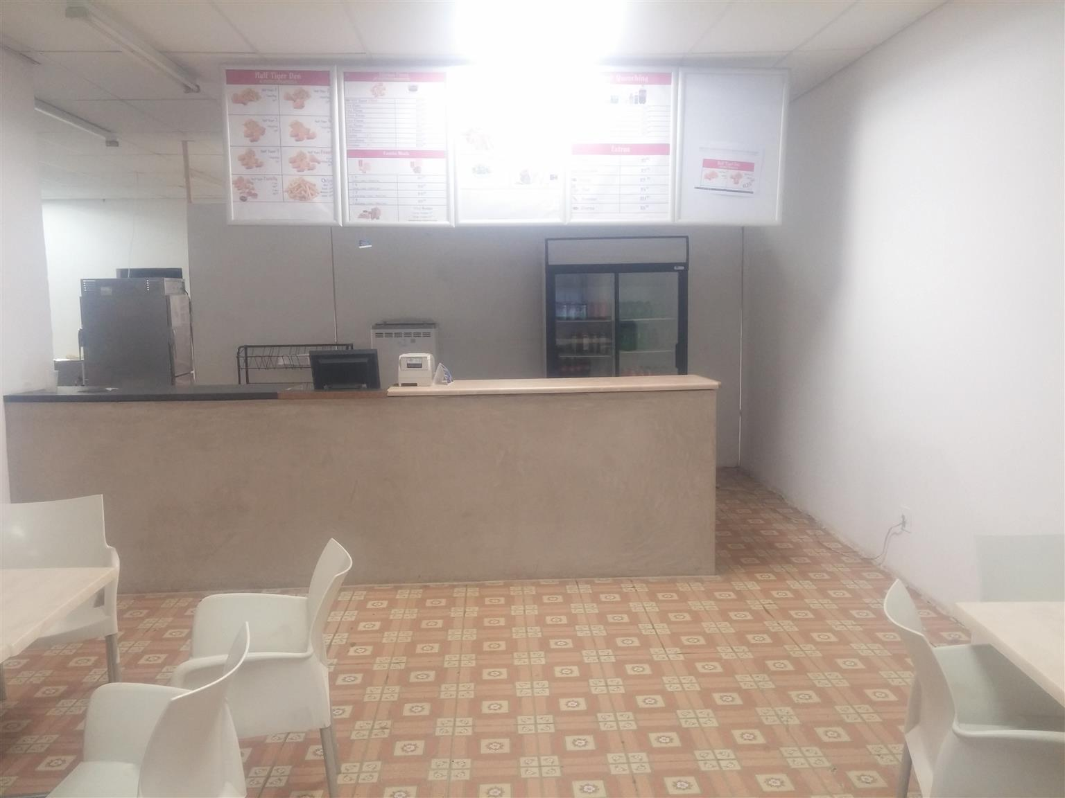 Restaurant Fried Chicken Outlet for sale in Big Tree Mall, Moloto