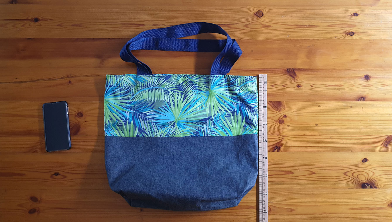 Hand Made Lined Tote Bag