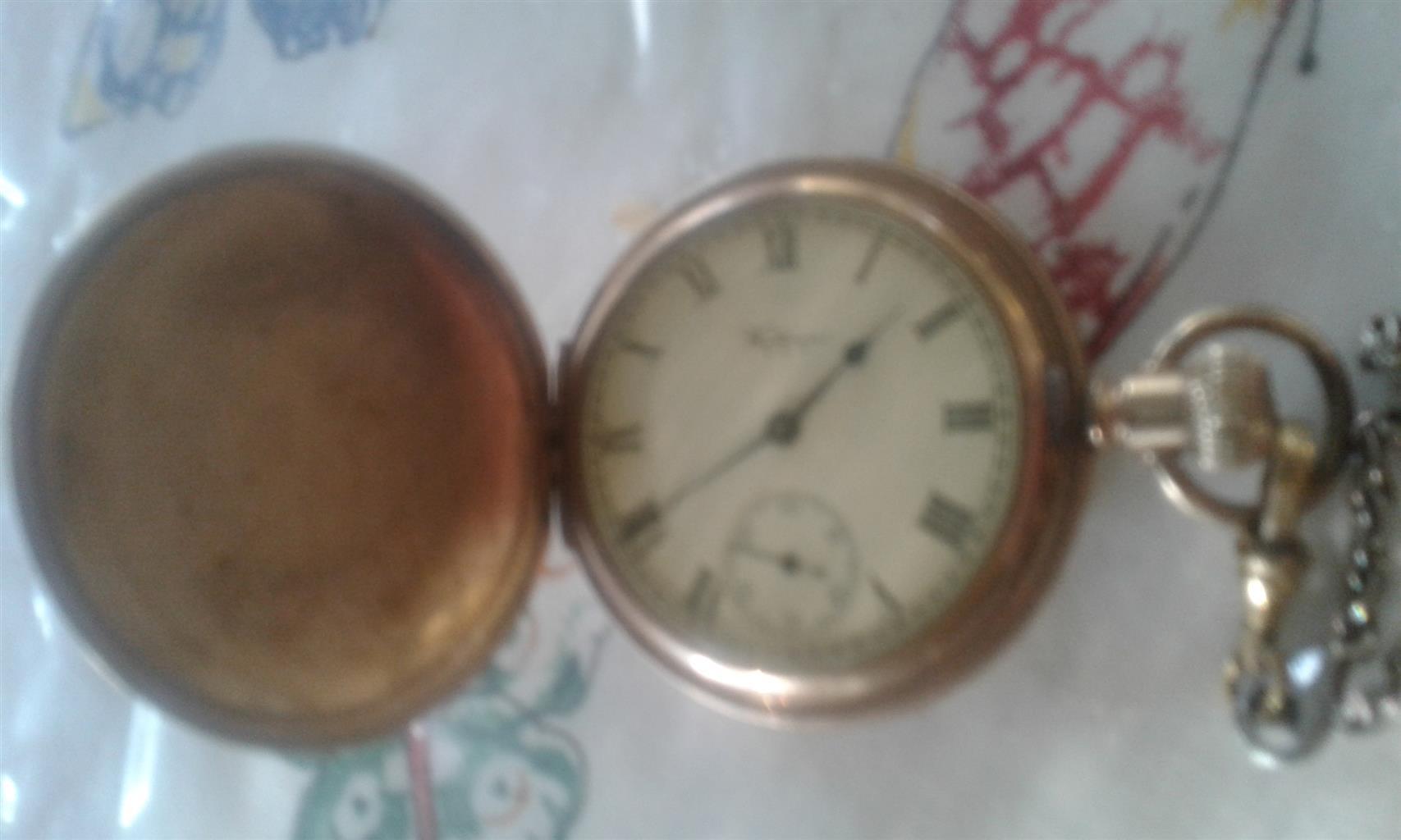 Waltham antique pocket watch