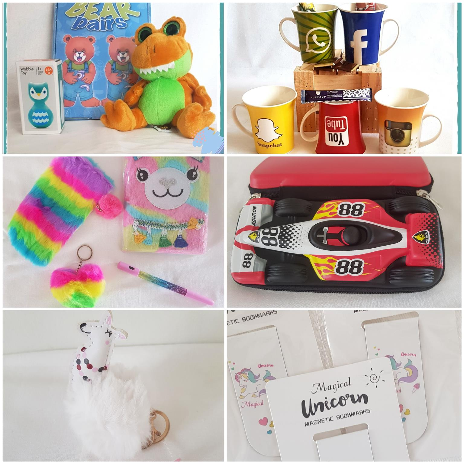 Educational products, novelty, stationery