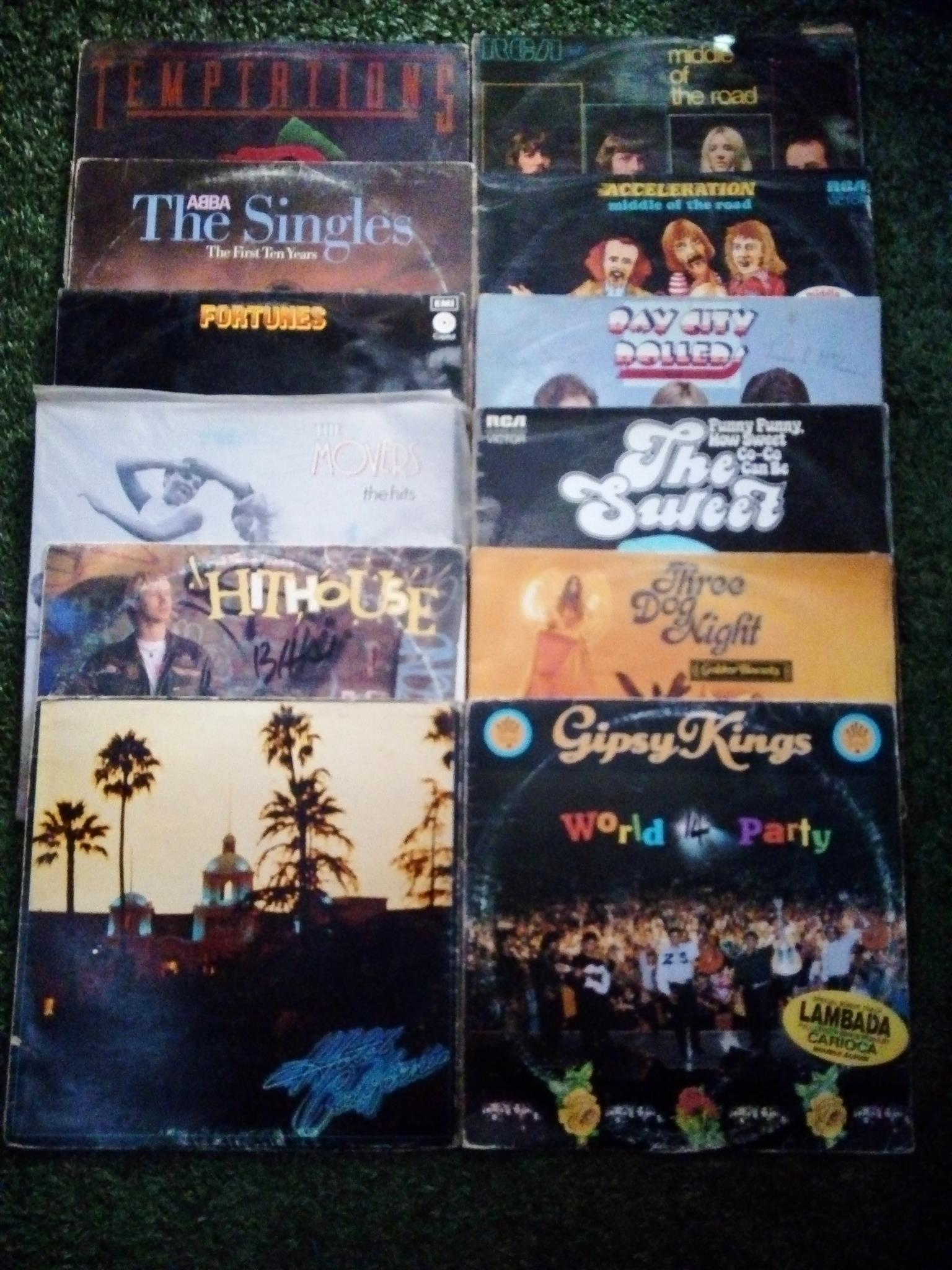 Longplay records and player for sale