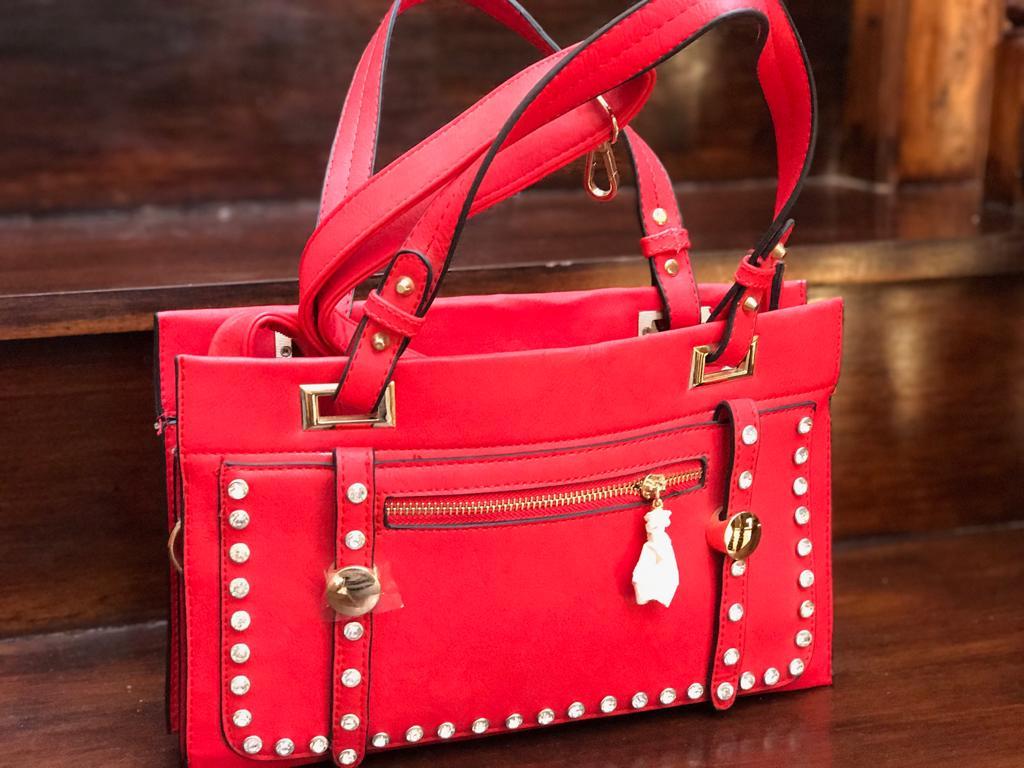 Ladies Red Handbag - New