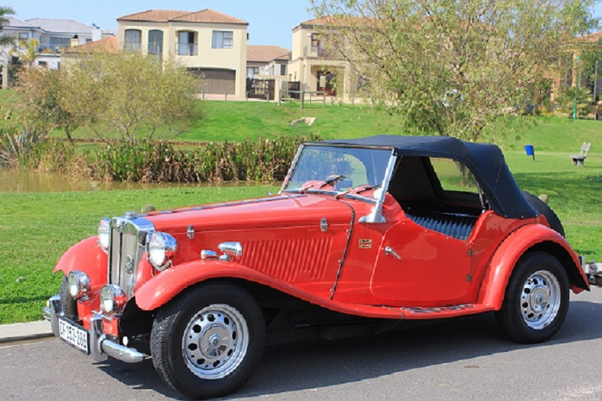 VINTAGE 1949 MG TD  -  For Hire
