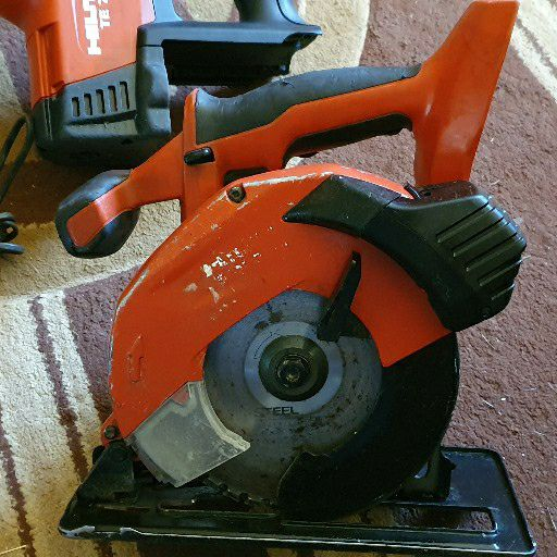 Hilti cordless power tool combo