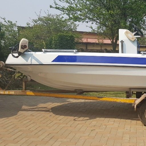 14ft Dual purpose boat 40hp Yamaha