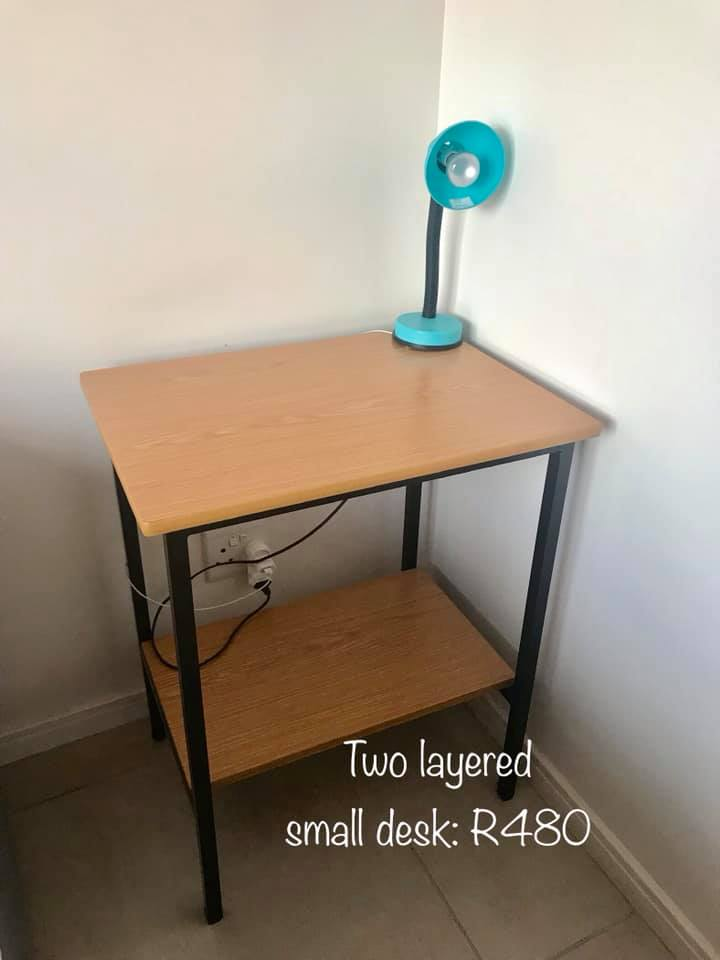 2 Layered small desk for sale
