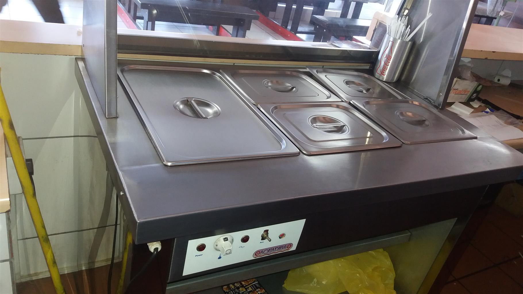 Negotiable: restaurant catering equipment for sale, urgent. Joint venture?
