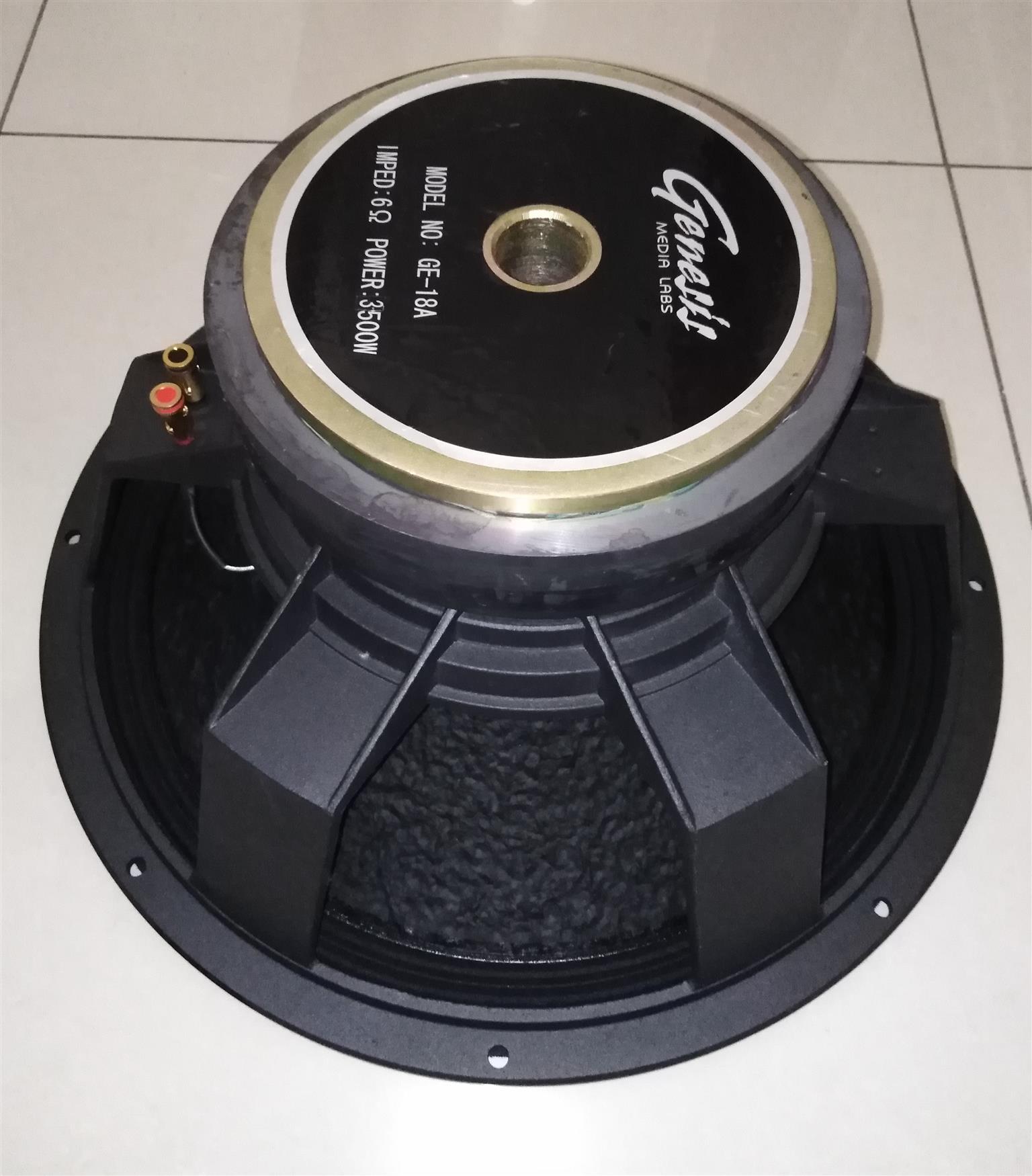Genesis 18 inch 3500W RMS (Bass Driver)