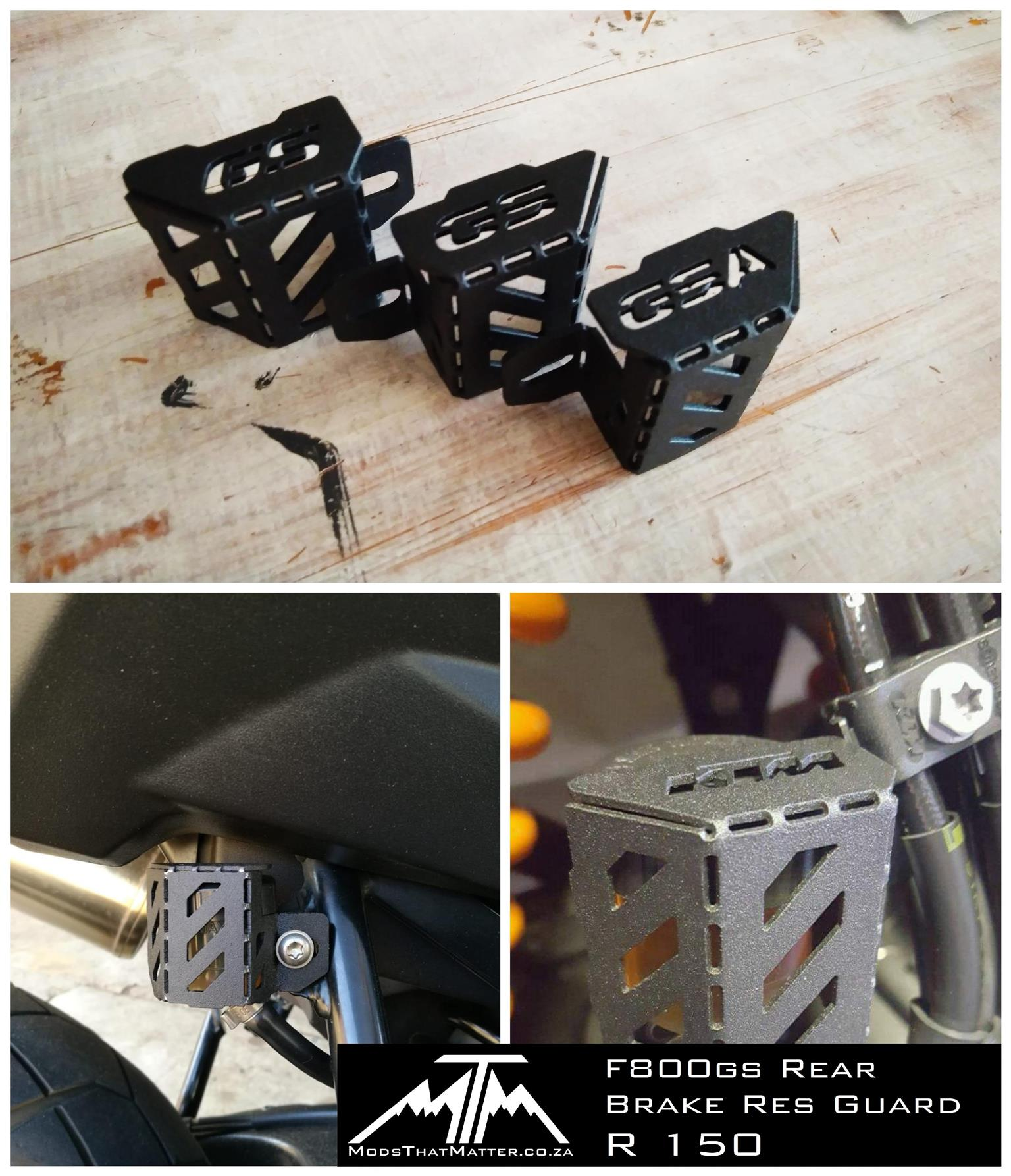 BMW 1200 GS and F800 gs Radiator Guards