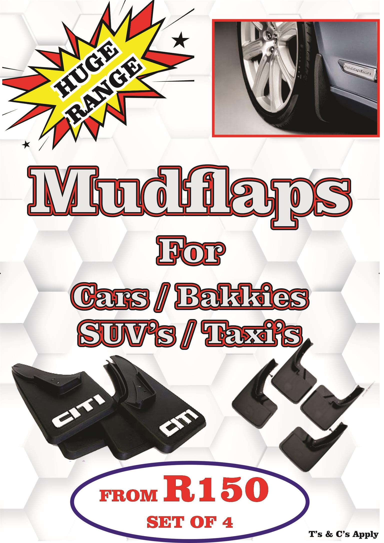 Mudflaps For Most Vehicles