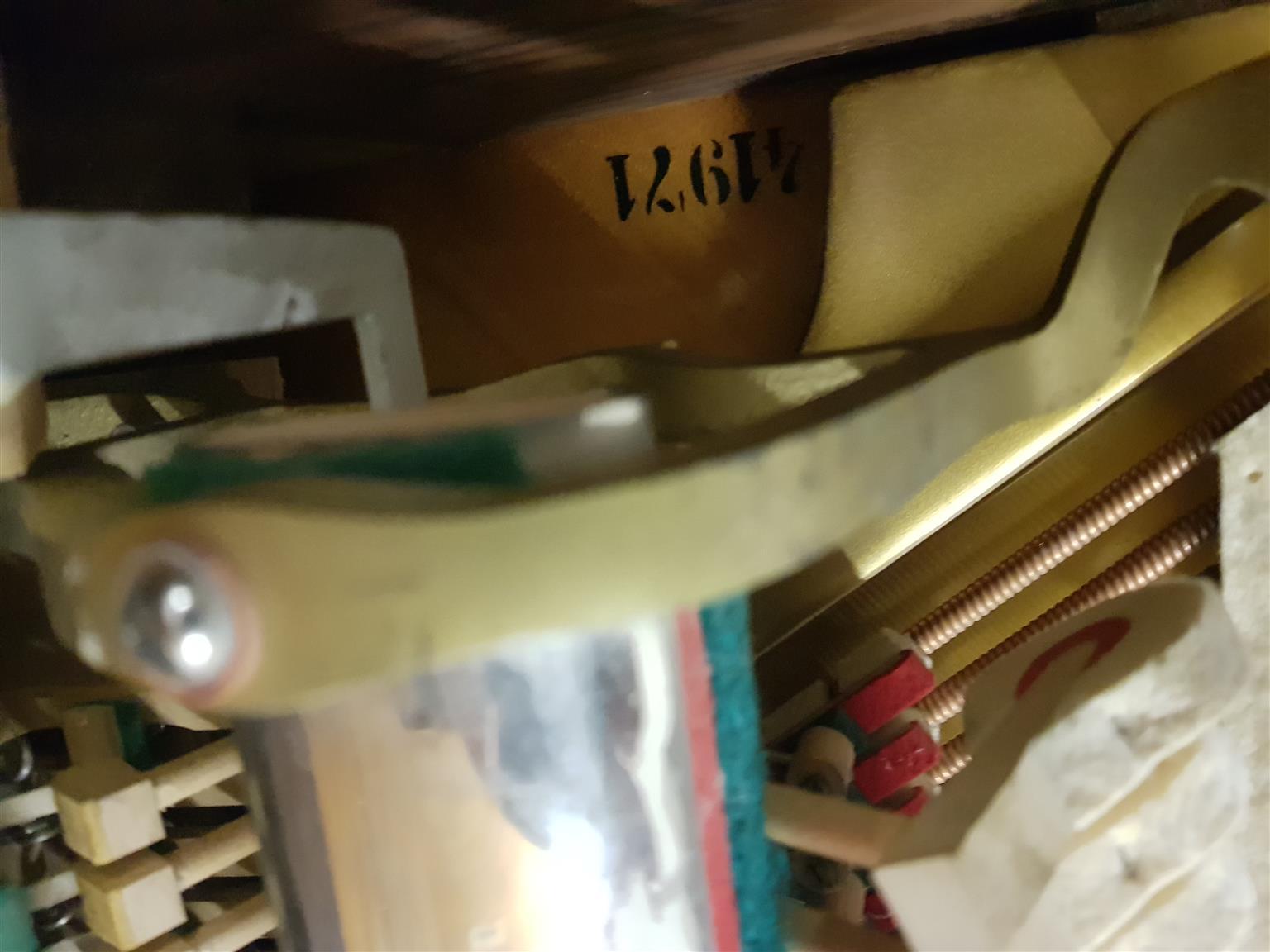 Hoffmann Wien Upright Piano 1970's