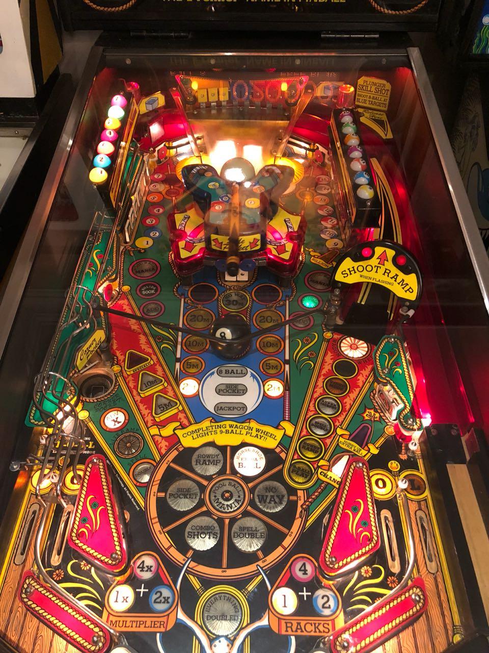 Pinball Machine Cue Ball Wizard by Gottlieb | Junk Mail