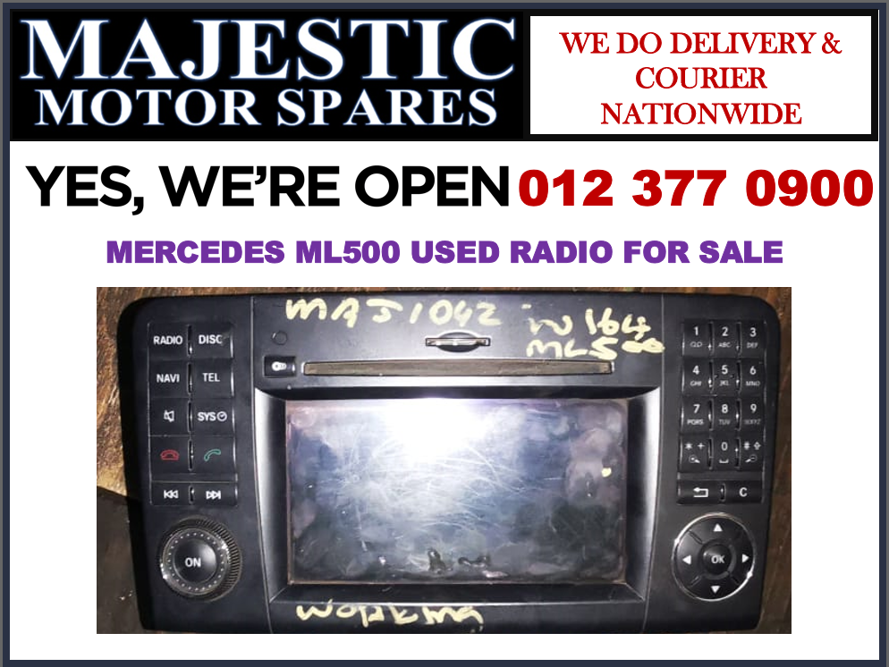 Mercedes benz ML500 used radio for sale