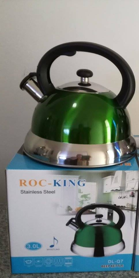 whistling kettle stainless steel