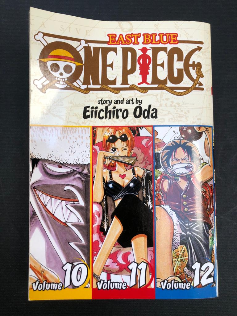 Iconic Manga Book series - One Piece by Eiichiro Oda - Volumes 1 - 12 and 22, 23 and 24
