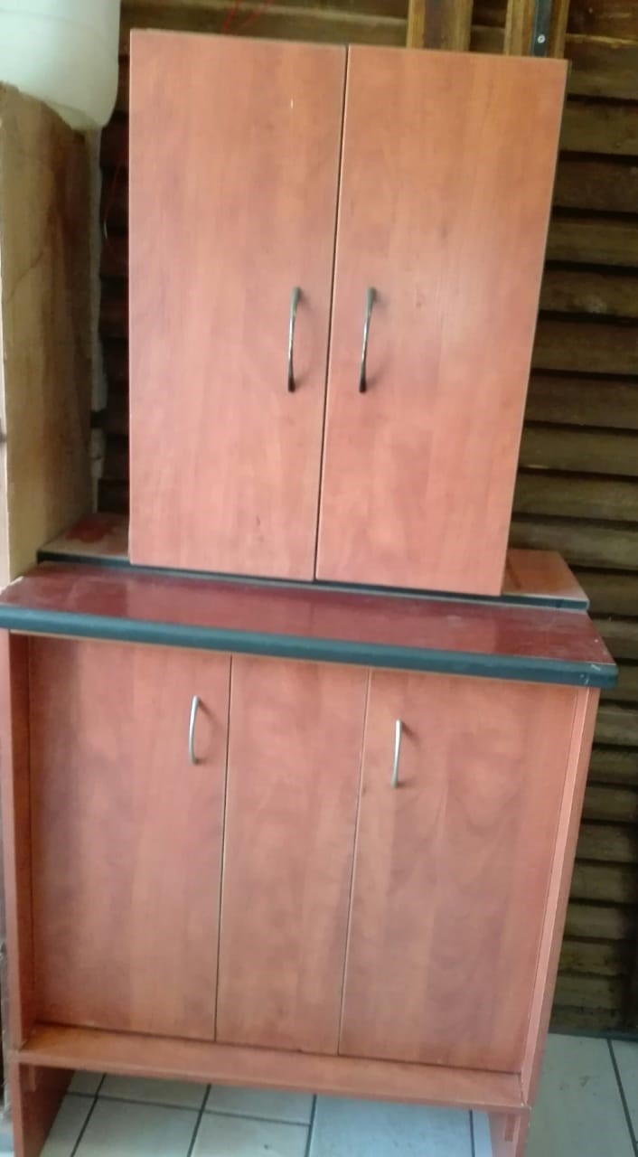 Very neat brown wood veneer melamine cabinet  Excellent condition  As new |  Junk Mail