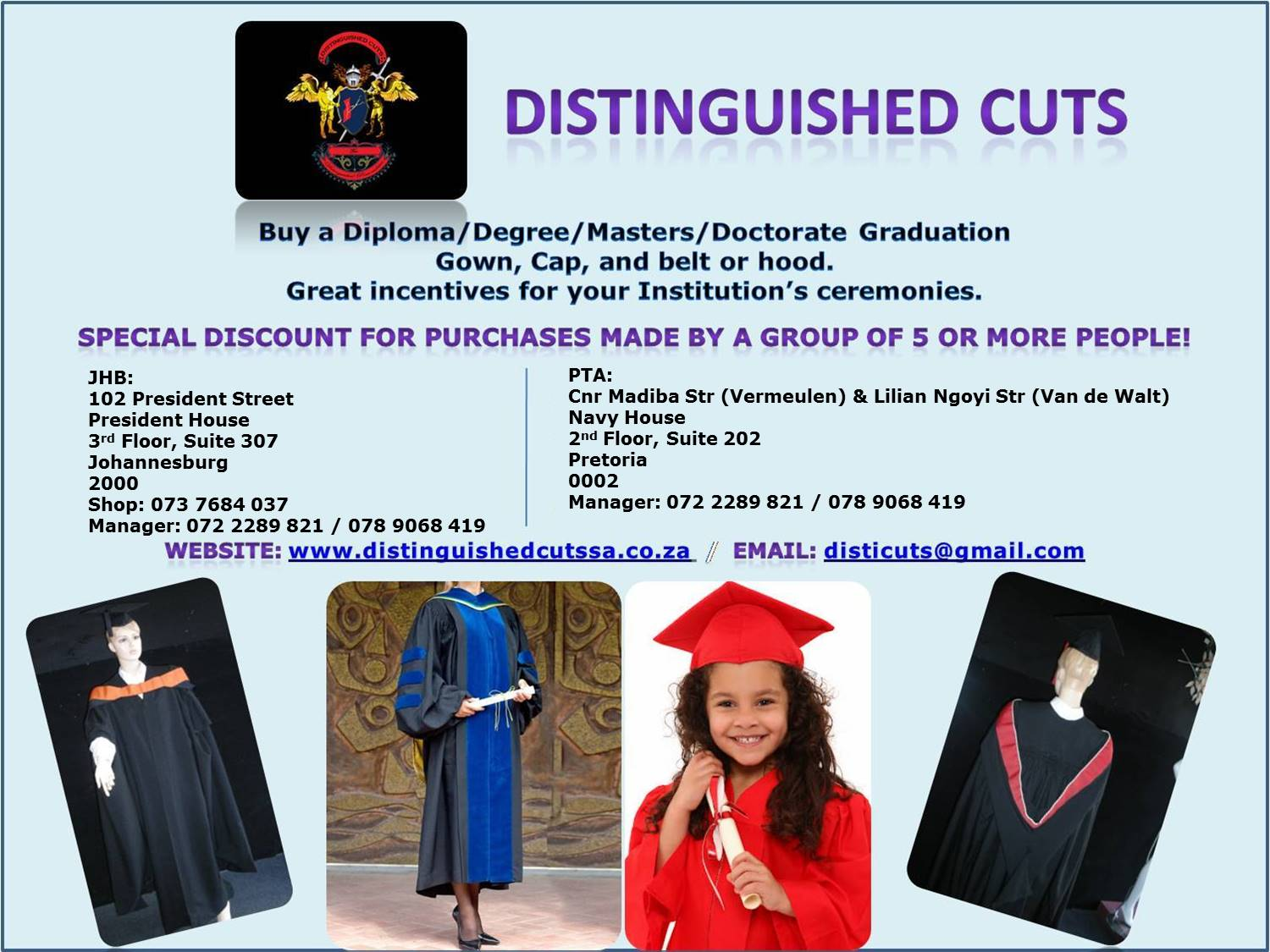 Gowns for Ceremonies