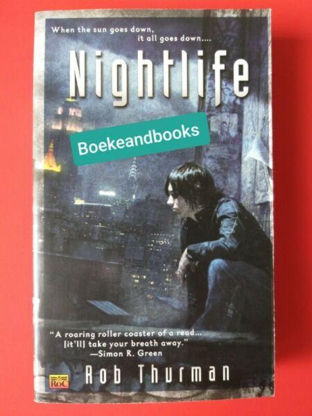 Nightlife - Rob Thurman - Cal Leandros #1.