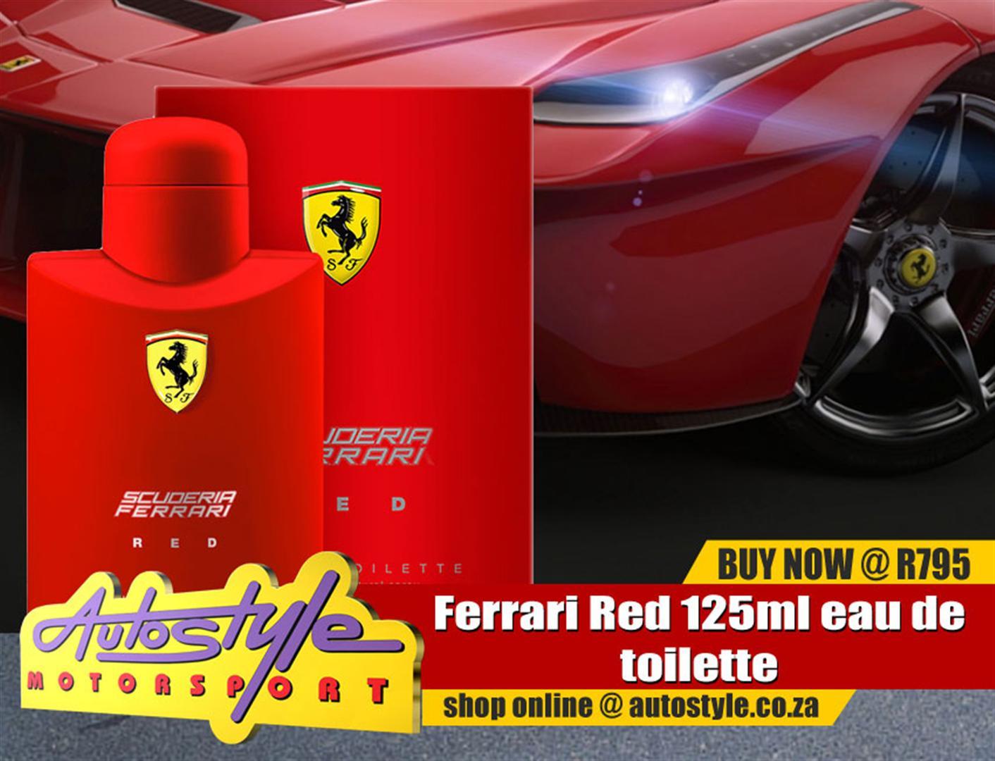 Ferrari Red 125ml eau de toilette