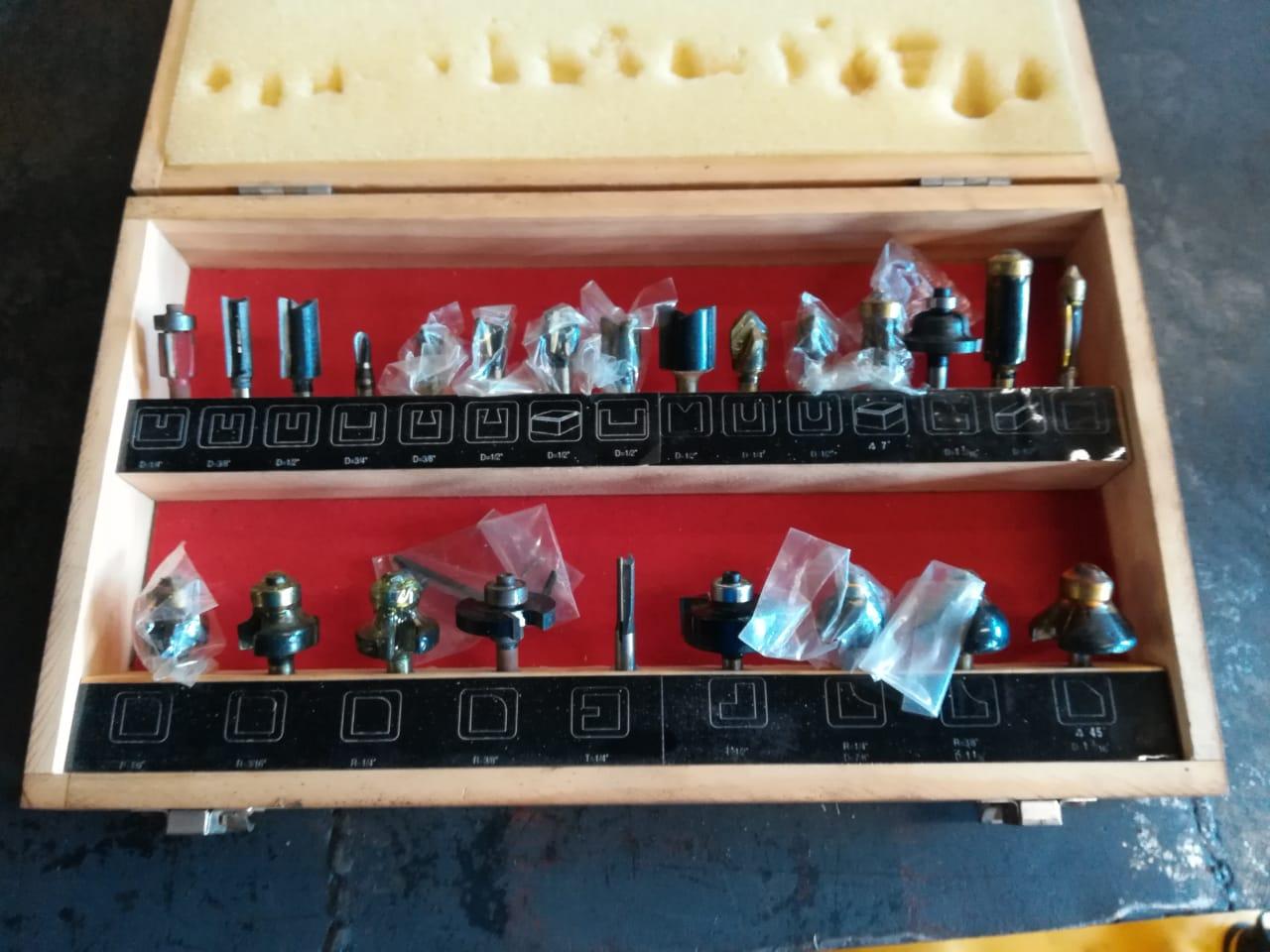 PRO Tech TCT router bits