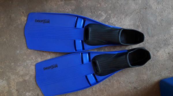 Deepblue water fins