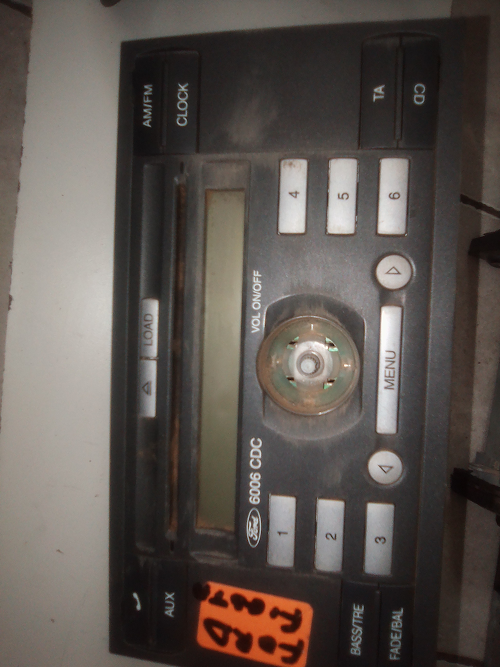 We Have A Ford Fiesta Radio For Sale