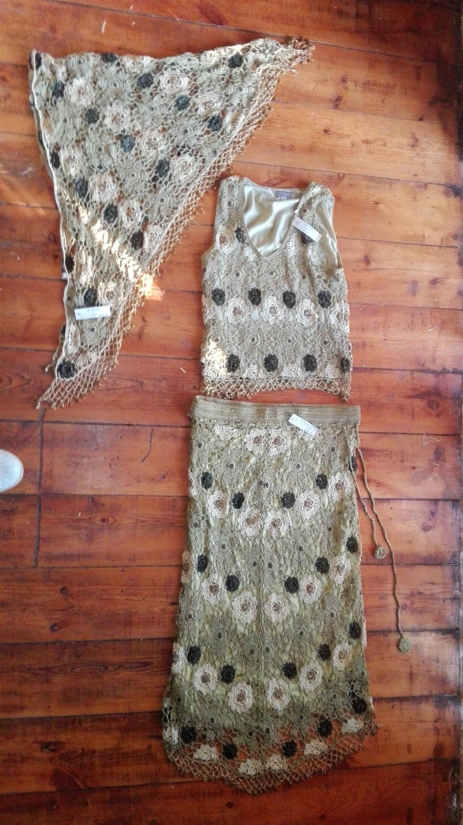 3 Piece Hand-made Stunning Ladies Outfit