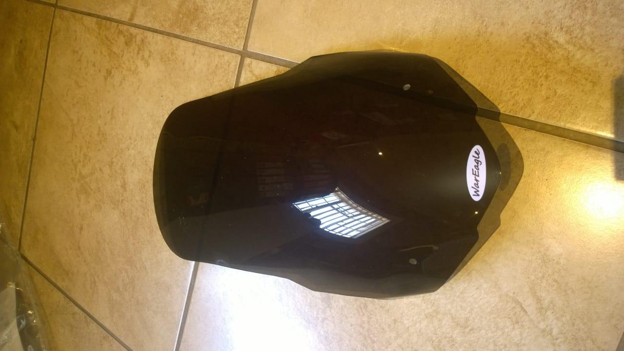 War Eagle Racing Motorcycle Screens and Fairings Honda NC700/750X Hi Rise Narrow Dark Tint Screen.